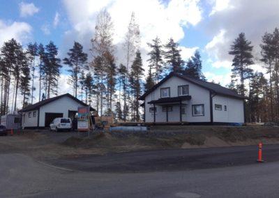 Talonrakennus Pitkänen Polarhouse Messutalo 2017